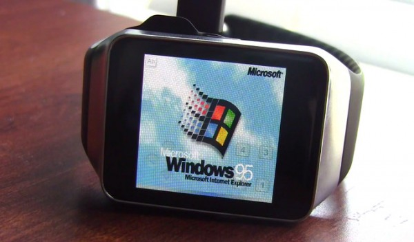 Windows 95 запустили на умных часах
