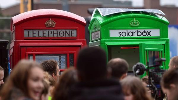 Разрядился смартфон? Ищите зеленую будку!