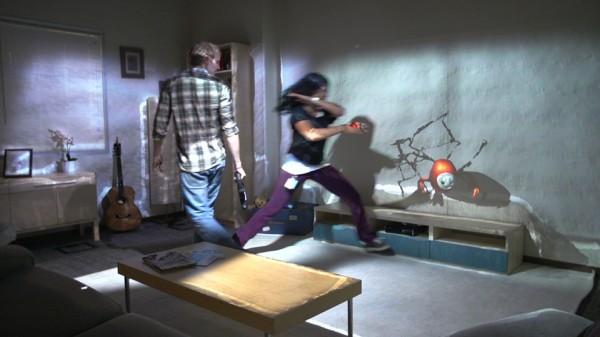 Microsoft RoomAlive превращает комнату в игру