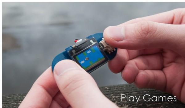 TinyScreen — самая крошечная в мире игровая консоль