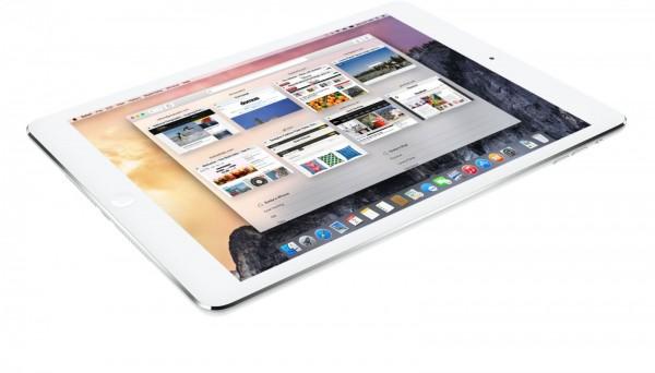 12,9-дюймовый iPad будет работать на OS X