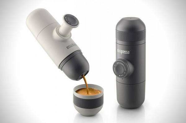 Minipresso — кофемашина в кармане