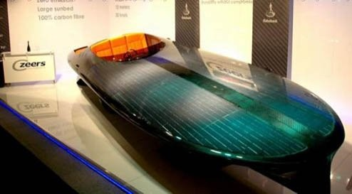 Первая в мире лодка на солнечной энергии Czeers MK1