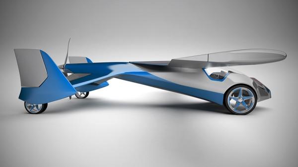 В Словакии изобрели летающий автомобиль