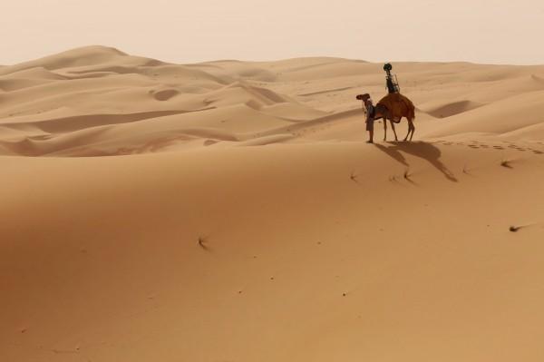 Для добавления в Street View Ливы Google использовала верблюда