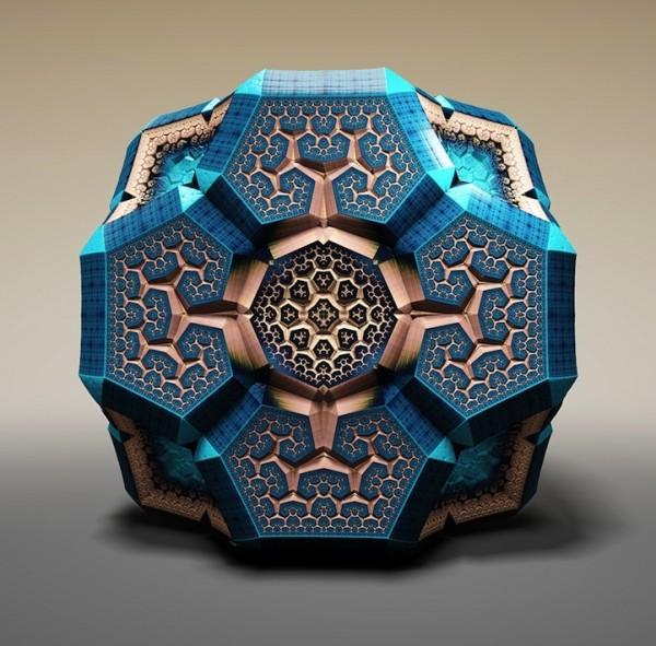 «Фракталы Фаберже» или произведения искусства на базе чистой математики