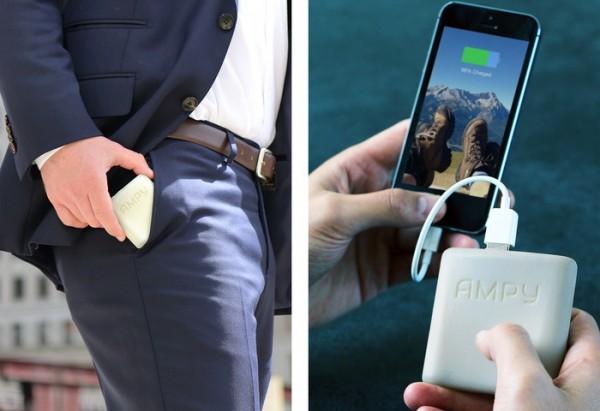 AMPY зарядит смартфон во время движения