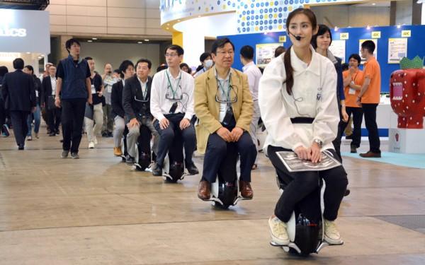 Honda показала новый роботизированный стул