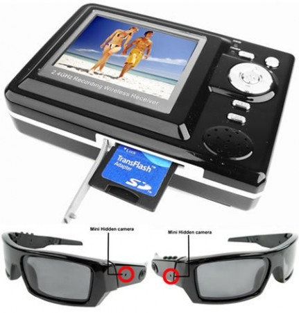 Dual Camera Spy Glasses – очки для шпионов