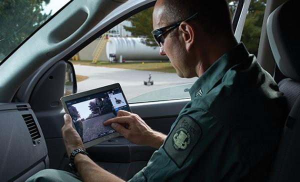 Армией роботов можно управлять с помощью Android-планшета