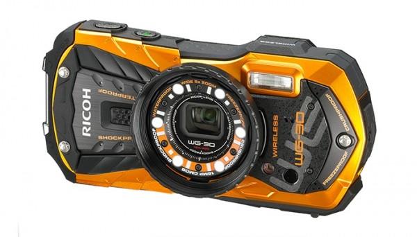 Прочные камеры для подводной съемки Ricoh WG-30 и WG-30W