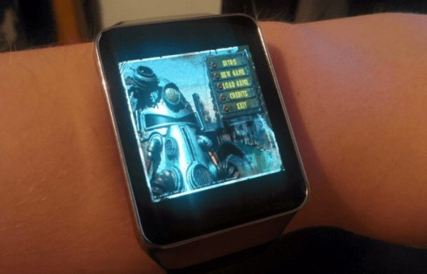 На умных часах Samsung Gear Live запустили Fallout 1