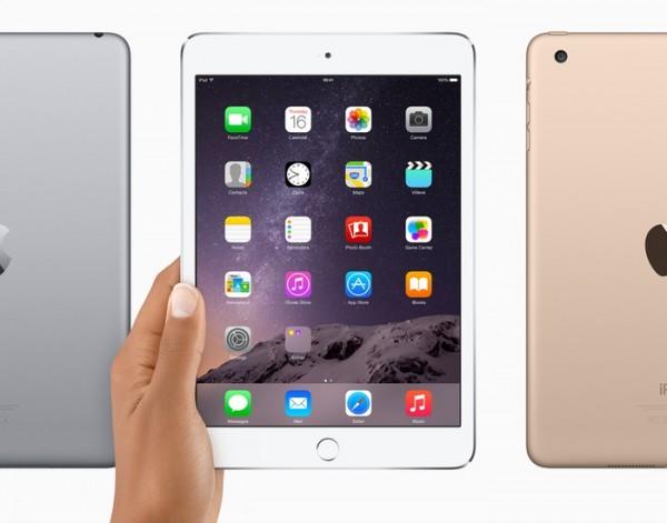 iPad Mini 3 мало чем отличается от iPad mini 2