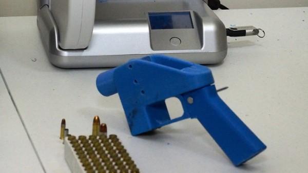 Пистолет распечатанный на 3d принтере