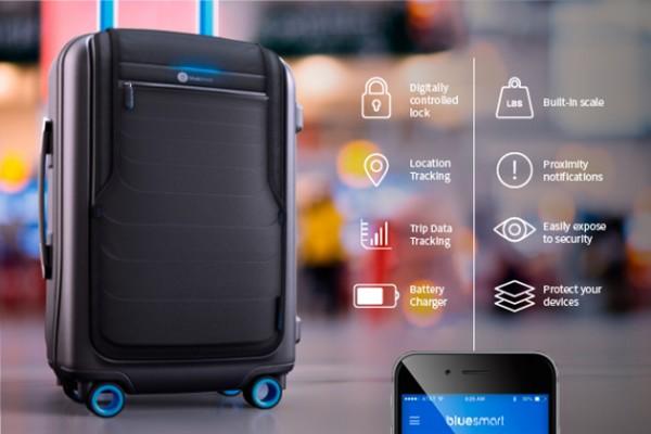 Bluesmart — умный чемодан