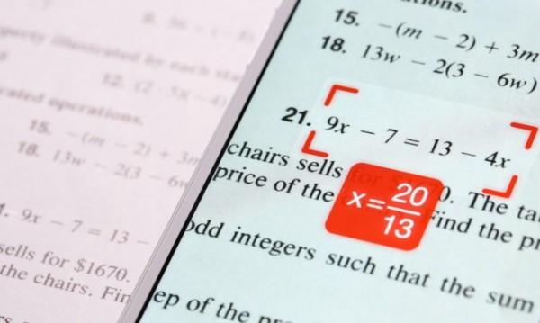 С помощью PhotoMath отличником по математике может стать каждый