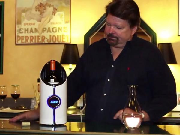 Sonic Decanter делает вино вкуснее с помощью ультразвука