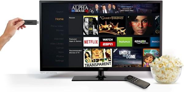 Amazon представила Fire TV Stick — конкурента Chromecast с пультом ДУ