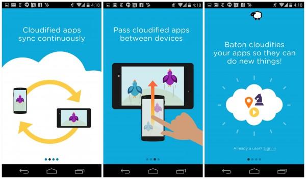 Baton – аналог Handoff от Cyanogen и Nextbit
