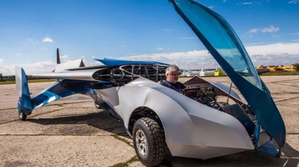 Flying Roadster 3.0 — летающий автомобиль от компании Aeromobil