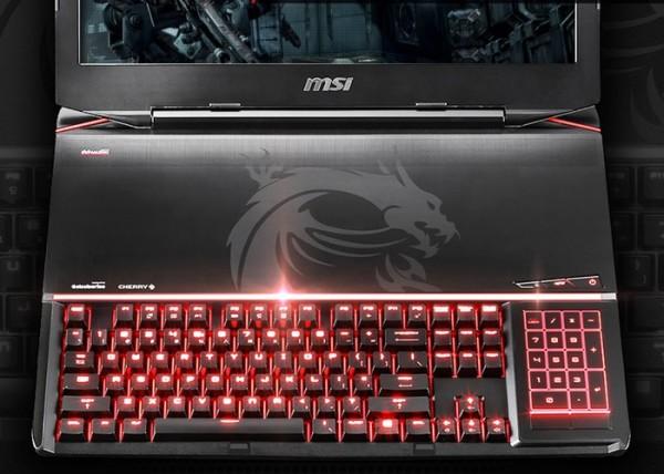 MSI GT80 Titan — игровой ноутбук с механической клавиатурой