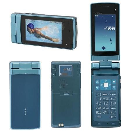 Fujitsu F706i – телефон который работает под водой