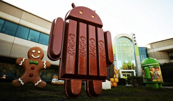 Почти треть рынка Android покорилась KitKat