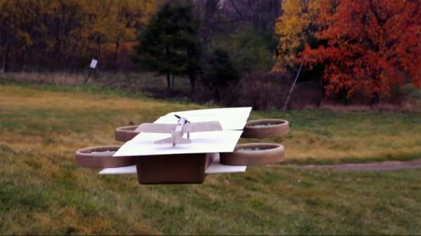 Энтузиасты построили авианосец для дронов