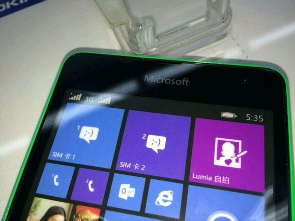 В сети появились «живые» фото Microsoft Lumia 535