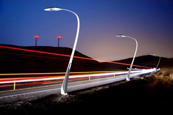 BMW будет заряжать электромобили от уличных фонарей