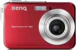 BenQ T850 – самый тонкий в мире цифровик