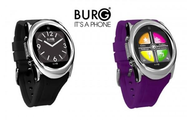 BURG 12 — умный телефон в виде часов