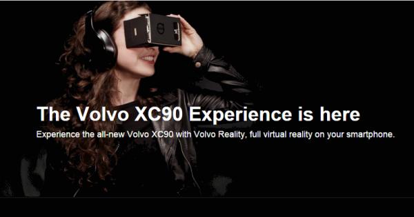 Как «угнать» Volvo XC90? С помощью картонного шлема Google!