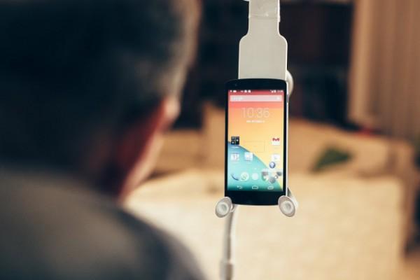 Sesame Phone позволит управлять смартфоном без рук