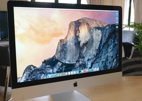 Новый iMac с дисплеем Retina