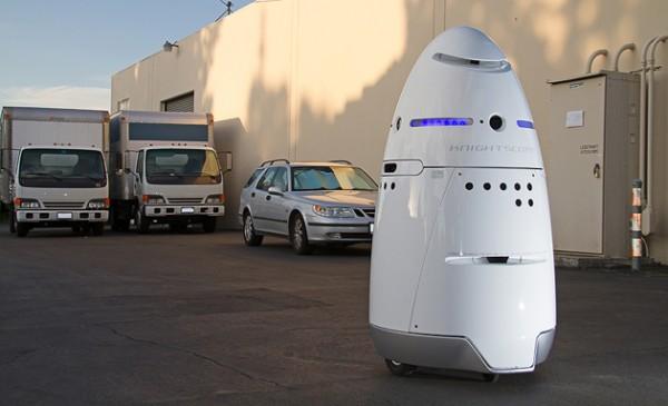 Автономные роботы Knightscope готовы заменить охранников?