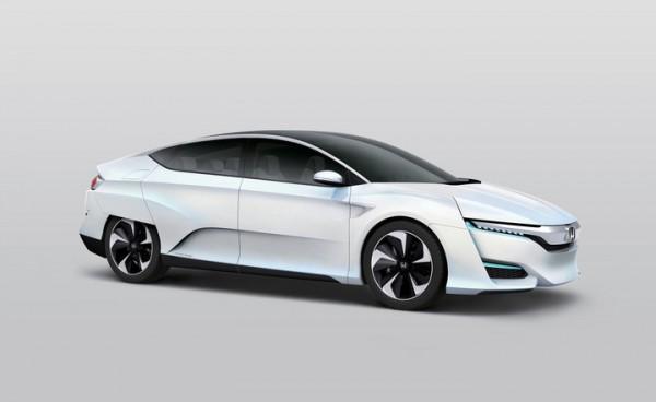 Honda подразнила новым концепт-каром с водородным двигателем