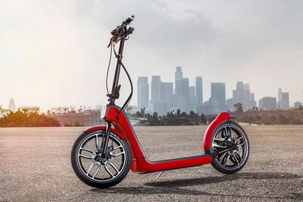 В Лос-Анджелесе представлен электрический скутер Mini Citysurfer Concept