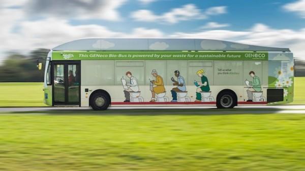 GeneCo Bio-Bus — автобус, работающий на экскрементах