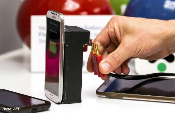 Аккумулятор смартфона можно будет зарядить за 30 секунд