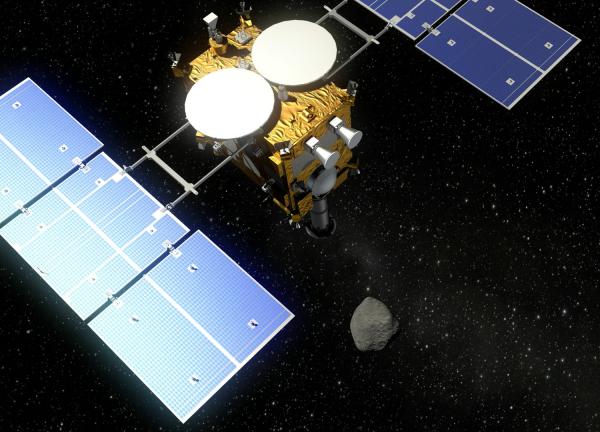 Японский зонд Hayabusa-2 «атакует» астероид в 2018 году