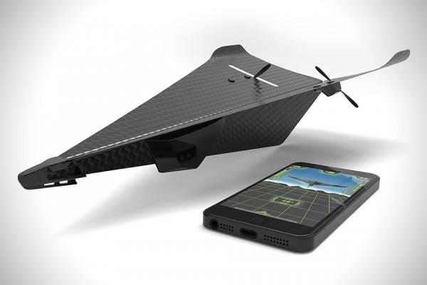 Carbon Flyer — дрон, который никогда не разобьется