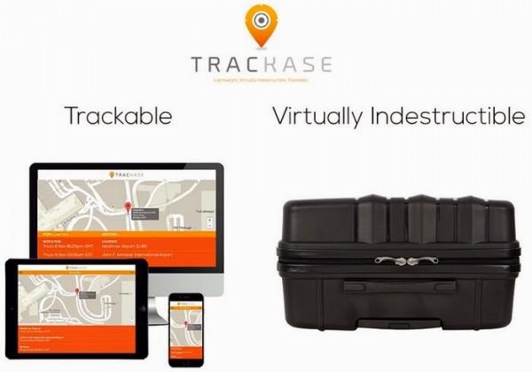Trackase — неуничтожимый багаж, который трудно потерять