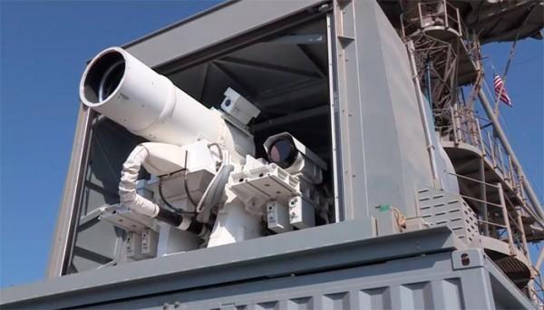 Еще одна пугающая демонстрация американского боевого лазера