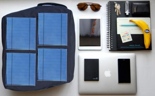 Solofy Mesh One — рюкзак с солнечными батареями
