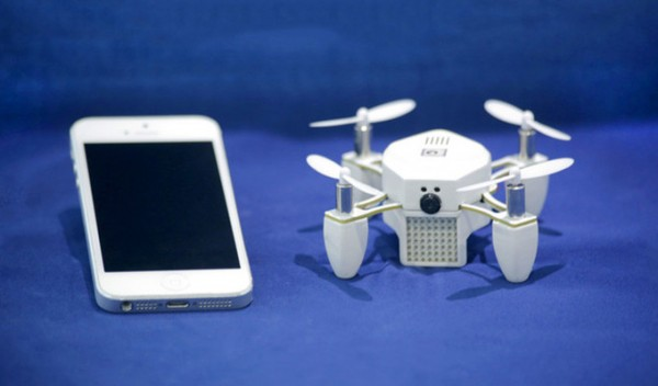 ZANO — дрон, собравший на Kickstarter 1,5 миллиона долларов
