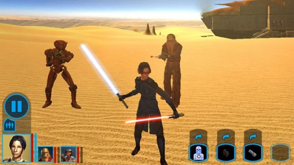 Состоялся релиз Star Wars Knights of the Old Republic на Android