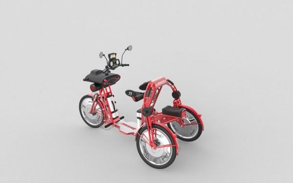 johanson3 — электрический трицикл за 2260 долларов