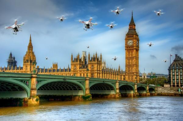 Британские власти будут штрафовать владельцев БПЛА