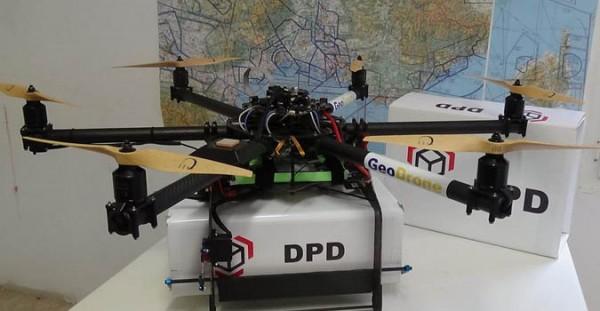Почту во Франции будут доставлять дроны